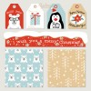 etichette, pattern, Natale – holidays labels, seamless patterns