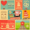 matrimonio inviti retro – wedding retro cards