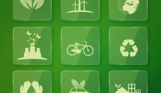 9 icone ecologia – ecology icons