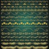 17 bordi dorati romantici – romantic golden borders