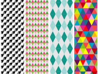 4 pattern triangoli – triangle patterns