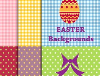6 sfondi Pasqua – Easter background