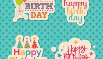 4 happy birthday – buon compleanno