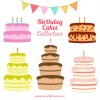 5 torte compleanno – birthday cakes collection