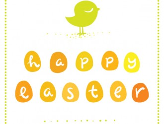 Pasqua – cute Easter greeting card