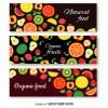 3 banner frutta – organic fruit banner