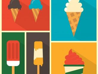 6 gelati – 6 ice creams