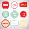 9 etichette saldi – discount labels