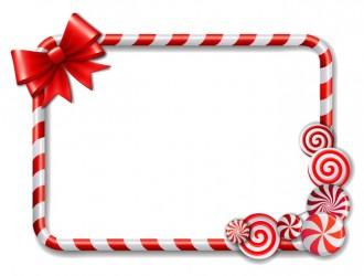 cornice caramelle – cute candy frames