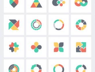 16 icone – infographics icons