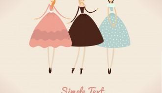 3 donne vintage – vintage glamour girls