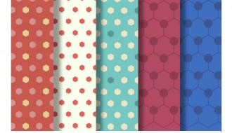 5 pattern poligonali – hexagonal pattern