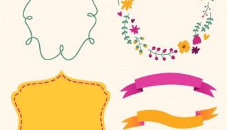 3 cornici 3 banner – cute frames, banner