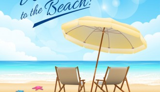 spiaggia, mare, ombrellone, sdraio – welcome to the beach