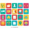 20 icone contatti – contact icons