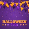 sfondo Halloween, bandierine – Halloween party, flags