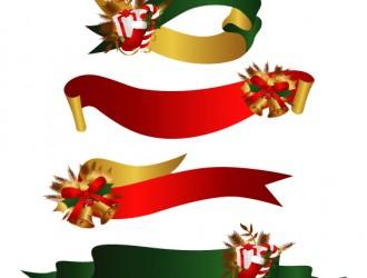 nastro Natale, regali, campane – Christmas ribbon, gift, bell