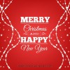 sfondo rosso Natale – red Merry Christmas background