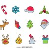 12 icone Natale – 12 Christmas icons