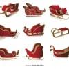 9 slitte Natale – Christmas sleighs