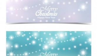 banner luci Natale – Christmas lamp shiny banners