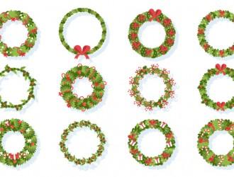 12 ghirlande Natale – Christmas wreaths