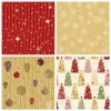 4 pattern Natale – cute Christmas pattern
