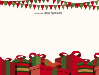 sfondo Natale regali – Christmas gift boxes background