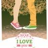innamorati San Valentino – Valentine modern card