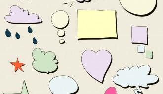 nuvolette fumetti – chat bubbles