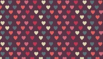 pattern cuori amore – love pattern vector