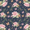 sfondo floreale – floral background illustration