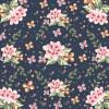 sfondo floreale – floral background illustration