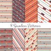 8 pattern geometrici – seamless patterns