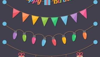 decorazioni festoni compleanno – birthday ornaments