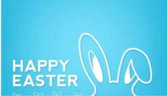 sfondo coniglio e uova di Pasqua – Happy Easter rabbit background