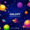 sfondo galassia con pianeti – galaxy background with planets