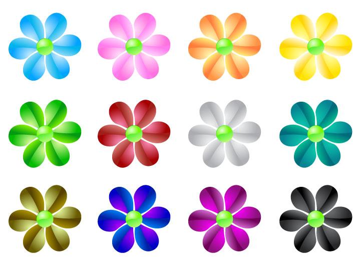 Disegni di fiori colorati stefano menegazzo tulipani for Fiori stilizzati colorati