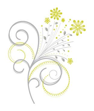 Decorazione floreale floral ornament vettoriali gratis for Decorazione floreale