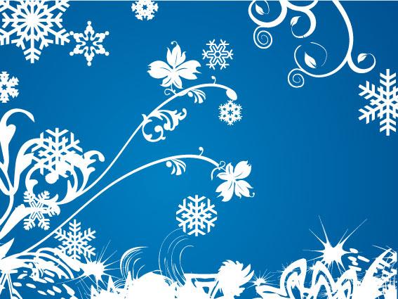 Sfondo Invernale Winter Background Vettoriali Gratisit Free
