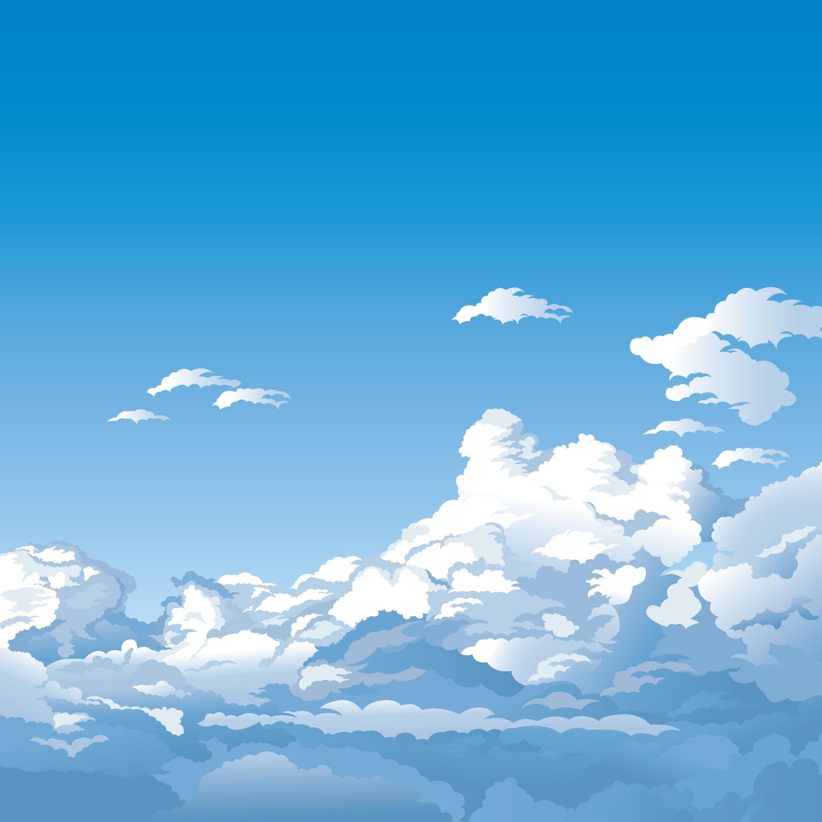 Cielo con nuvole sky with clouds vettoriali gratis it free