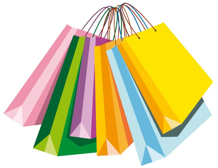Borse shopping bags 2 vettoriali gratis it free vectors