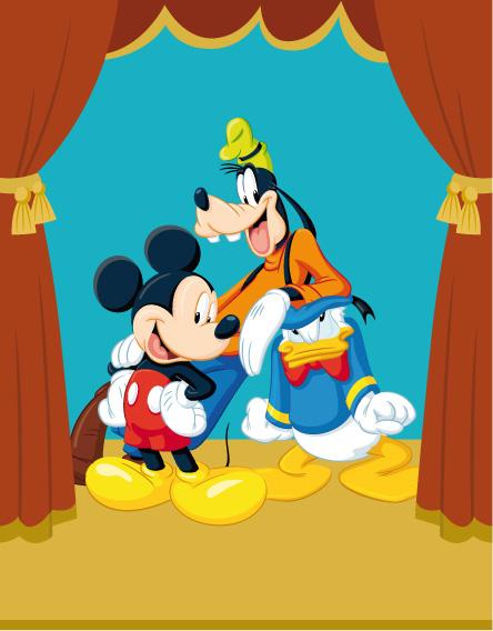 Topolino paperino pippo mickey mouse donald duck