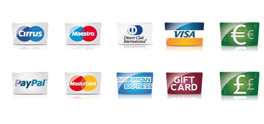 carte di credito e pagamenti – credit cards and payments  Vettoriali Gratis.it (Free Vectors)