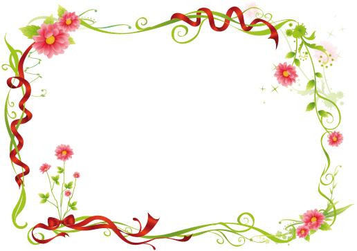 Рамочки из цветов