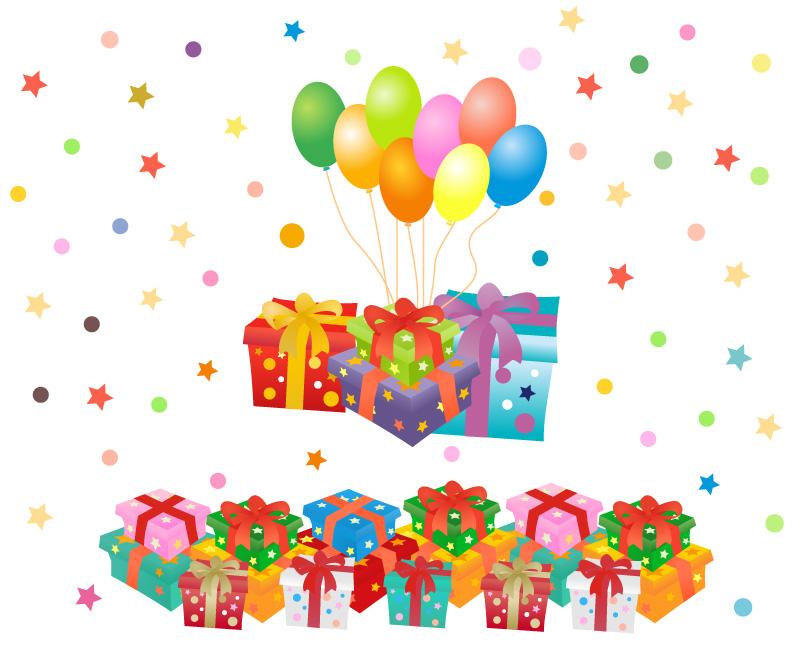 Scatole regalo gift boxes 4 vettoriali free for Oggetti in regalo gratis