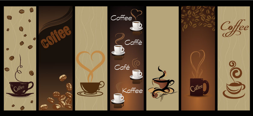 Banner Caff 232 Coffee Banner Vettoriali Gratis It Free