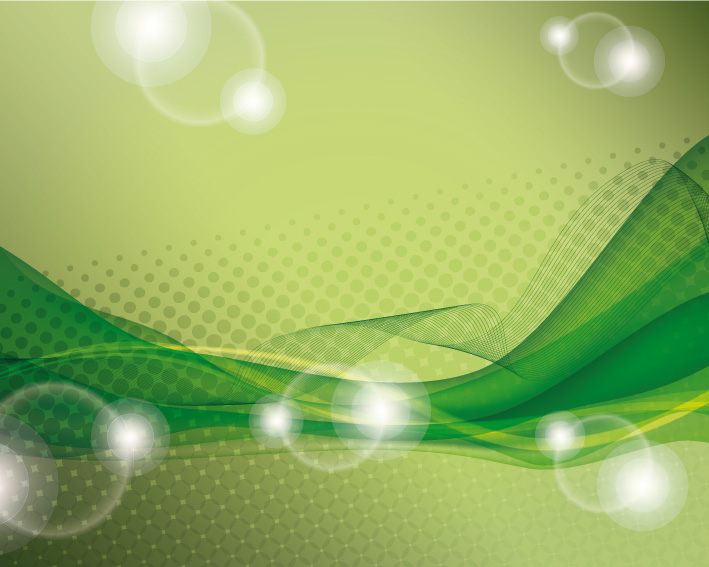 Sfondo Verde Astratto Green Abstract Background1 Vettoriali