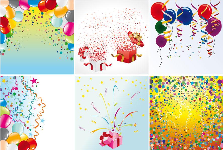 Coriandoli Confetti Vettoriali Gratis It Free Vectors