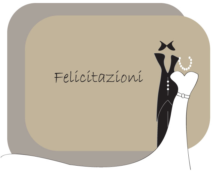 Biglietto auguri matrimonio happy wedding card 1 vettoriali